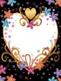El amor florece el producto del marco Fotografía de archivo