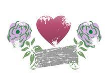 El amor se levantó Ilustración del Vector