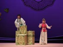"""El amor se ríe del  del oeste de Chamber†del """"the de la ópera del muchacho-Kunqu foto de archivo libre de regalías"""