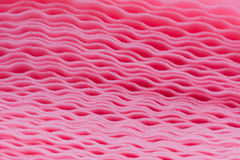 El amortiguar rosado de la espuma Fotos de archivo libres de regalías