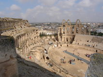 EL - Amphitheatre del `s de Jem Imagen de archivo libre de regalías