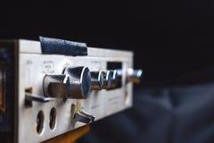 El amplificador viejo Imágenes de archivo libres de regalías