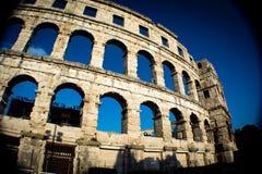 El anfiteatro en pulas Fotos de archivo libres de regalías