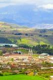 El Angel City Vertical Stock Image