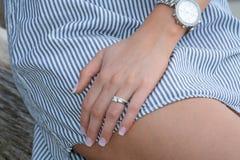 El anillo Foto de archivo libre de regalías