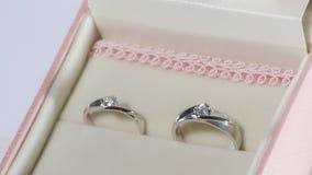 El anillo de la boda Imagen de archivo