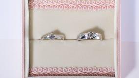 El anillo de la boda Imagenes de archivo