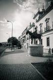 El anillo de la lucha de toro en Sevilla, España, Europa imágenes de archivo libres de regalías