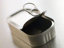 El anillo de tirón abierto puede Fotografía de archivo libre de regalías