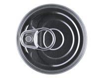 El anillo de tirón puede Foto de archivo libre de regalías