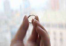 El anillo del milagro Foto de archivo