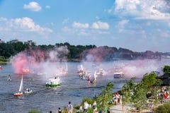 El aniversario de la sublevación de Varsovia fotos de archivo