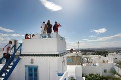 El Annabi terrace view Stock Photos