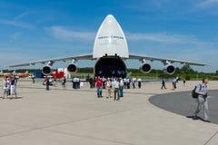 El Antonov An-124 Ruslan Imágenes de archivo libres de regalías
