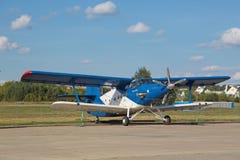 El Antonov An-2 TVC-2MC Imágenes de archivo libres de regalías