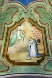 El anuncio de la Virgen Fotografía de archivo libre de regalías