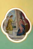 El anuncio de la Virgen Fotografía de archivo