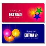 El anuncio feliz de las compras del día de fiesta de Diwali y la venta de la promoción ofrecen