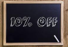 el 10% apagado foto de archivo libre de regalías