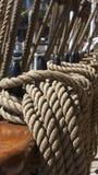 El aparejar de las naves Fotografía de archivo libre de regalías