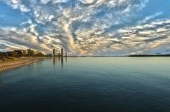 Bahía Gold Coast del fugitivo Fotos de archivo