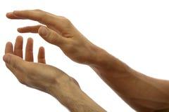 El aplaudir de manos foto de archivo