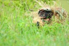 El apuntar del francotirador Fotografía de archivo libre de regalías