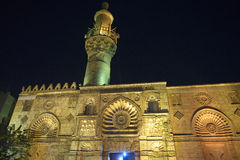 El-Aqmar Mosque at night, Cairo (Egypt) Royalty Free Stock Image