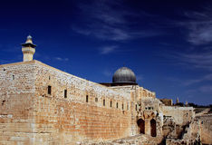EL Aqsa Photographie stock