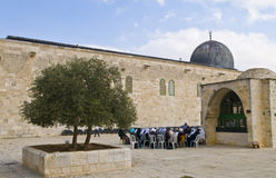 El Aqsa mosque Stock Photos