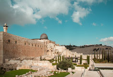 El aqsa mosque, Jerusalem, Israel Royalty Free Stock Photos