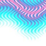 El Aqua flamea el fondo stock de ilustración