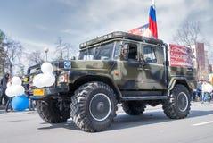El ¡AR de Ð del ministerio de la emergencia participa en desfile Fotos de archivo