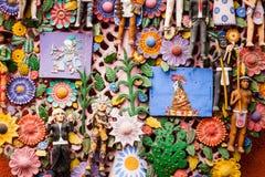 EL arbol de la vida, a árvore de vida, uma tradição asteca Fotografia de Stock
