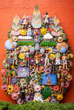 EL arbol de la vida, el árbol de la vida, una tradición azteca Imágenes de archivo libres de regalías