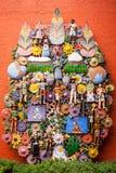 EL arbol de la vida, l'albero della vita, una tradizione azteca Immagini Stock Libere da Diritti