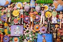 El arbol de la vida, the tree of life, an aztec tradition.  Royalty Free Stock Image