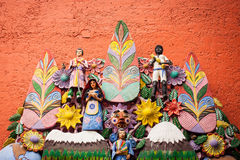 El arbol de la vida, the tree of life, an aztec tradition.  Royalty Free Stock Images