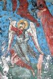 El arcángel con la lanza Foto de archivo libre de regalías