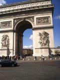 El Arc de Triomphe Fotografía de archivo libre de regalías