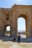 El arco de AdrianoImagenes de archivo