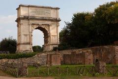 El arco de Titus Imágenes de archivo libres de regalías