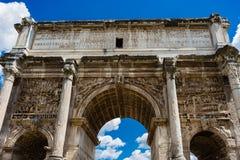 El arco de Titus Foto de archivo