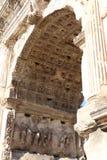 El arco de Titus fotos de archivo libres de regalías