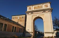 El arco de Triumph en el VAC, Hungría Imagen de archivo
