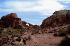 El arco del horizonte Foto de archivo