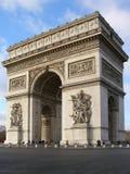 El arco del triunfo Imagen de archivo