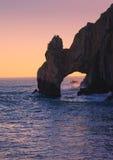 El arco en Cabo San Lucas, México Foto de archivo