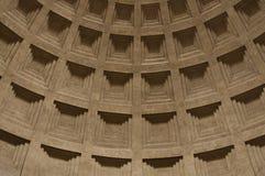 El arco interno de Roman Pantheon Imágenes de archivo libres de regalías