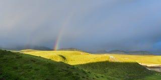 ¡El arco iris! Fotos de archivo libres de regalías